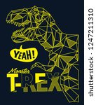 Cool Vector Dinosaur Design Fo...