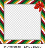 cute christmas or new year...   Shutterstock .eps vector #1247215210