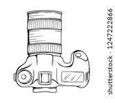 camera vector illustration....   Shutterstock .eps vector #1247222866