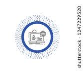 webinar  forum  online  seminar ...   Shutterstock .eps vector #1247229520