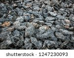 gabion protective wall | Shutterstock . vector #1247230093