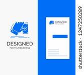 business logo for business ... | Shutterstock .eps vector #1247250289
