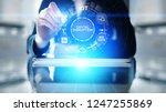 digital disruption. disruptive...   Shutterstock . vector #1247255869