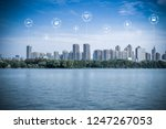 5g network wireless systems and ... | Shutterstock . vector #1247267053
