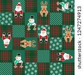 christmas image illustration... | Shutterstock .eps vector #1247274913