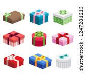 various presents   gift boxes...