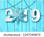 2019 new year celebrate... | Shutterstock .eps vector #1247290873