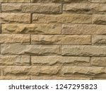 The Sandstone Wall Is Clastic...