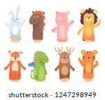 Cartoon Puppets. Dolls From...