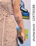 kelly osbourne at the 2012 do...   Shutterstock . vector #124730188