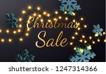 christmas sale. promotion... | Shutterstock .eps vector #1247314366