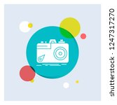 camera  photography  capture ... | Shutterstock .eps vector #1247317270