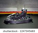go kart speed river indoor race ... | Shutterstock . vector #1247345683