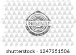 unusually grey badge with... | Shutterstock .eps vector #1247351506
