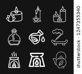aromatherapy icon  accessory... | Shutterstock .eps vector #1247355340