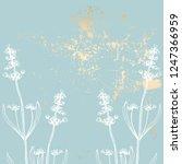 trendy elegant pastel blush... | Shutterstock .eps vector #1247366959