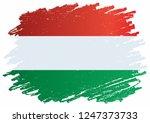 flag of hungary  hungary....   Shutterstock .eps vector #1247373733
