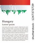 flag of hungary  hungary....   Shutterstock .eps vector #1247373739