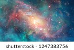 starfield stardust and nebula... | Shutterstock . vector #1247383756