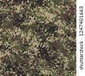 camouflage texture digital... | Shutterstock .eps vector #1247401663