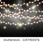 christmas bright  beautiful... | Shutterstock .eps vector #1247403376