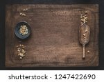 herbal medicine background with ... | Shutterstock . vector #1247422690