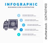 ambulance  truck  medical  help ... | Shutterstock .eps vector #1247437453
