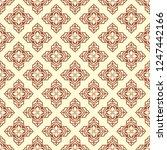retro seamless ornamental... | Shutterstock .eps vector #1247442166