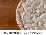 top close view of a multigrain... | Shutterstock . vector #1247444299