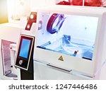 laboratory semi industrial... | Shutterstock . vector #1247446486