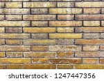 old brick wall textures and...   Shutterstock . vector #1247447356
