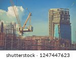 architect working with in... | Shutterstock . vector #1247447623