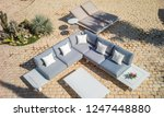 beautiful garden furniture | Shutterstock . vector #1247448880