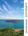 rocky coast of spain catalonia | Shutterstock . vector #1247454673