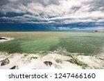 thunderstorm weather over the...   Shutterstock . vector #1247466160