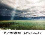 thunderstorm weather over the...   Shutterstock . vector #1247466163