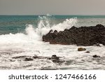 landscape at the sea   Shutterstock . vector #1247466166