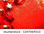 christmas holidays ornament... | Shutterstock . vector #1247469313
