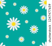 seamless floral pattern with... | Shutterstock .eps vector #1247477659