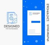 business logo for api  app ...