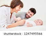mother and father together...   Shutterstock . vector #1247495566
