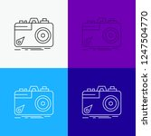 camera  photography  capture ... | Shutterstock .eps vector #1247504770