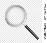 magnifying glass  with gradient ... | Shutterstock .eps vector #1247521969