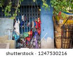 garbage and rags or tatter with ... | Shutterstock . vector #1247530216