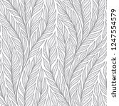 hand drawn pattern with... | Shutterstock . vector #1247554579