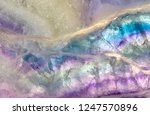 lilac and blue fluorite texture ... | Shutterstock . vector #1247570896