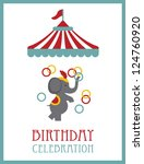 Kid Happy Birthday Card Design...