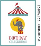 Kid Happy Birthday Card Design...