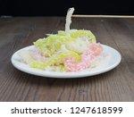 vietnamese steamed cassava with ...   Shutterstock . vector #1247618599