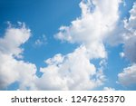 clouds and sky  clouds and blue ... | Shutterstock . vector #1247625370